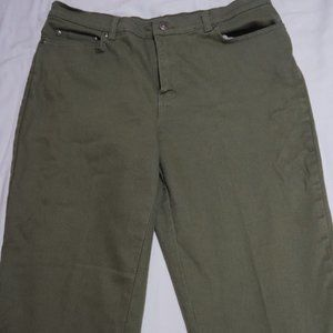 Sixe 14 | Style & Co | Olive Green Jeans